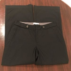 Black Wool Jackson Fit Banana Republic Dress Pants
